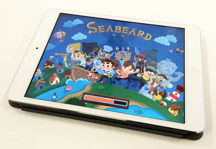Seabeard on iPad Mini
